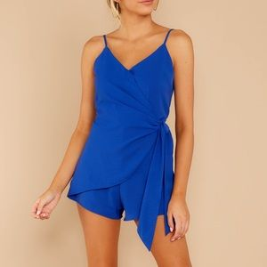 Royal Blue Romper Rolla Coster